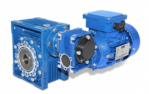 SEVA- Worm Gearbox Motor- CMRV 075/040-561-4 - 0,06 kW - 0,47 RPM