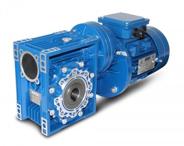 SEVA- CMRV 063+PC071-711-4 - 0,25 KW - 9,3 Upm- Schneckengetriebemotor