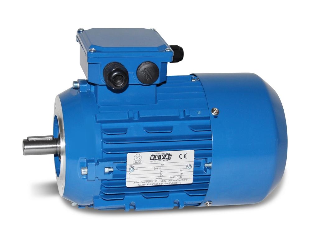 Drehstrommotor MX3 90L1 1,5 kW 4pol-B14 JS