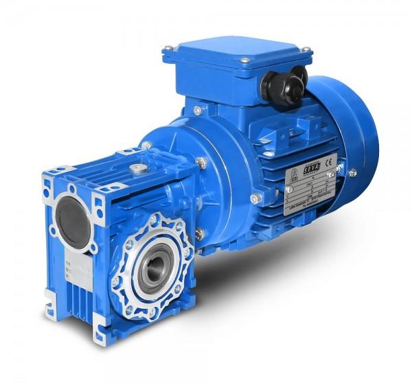 SEVA- CMRV 050-802-4 - 0,75 KW - 140 Upm- Schneckengetriebemotor