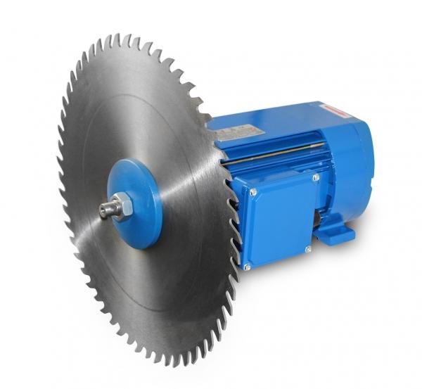 Circular Saw Motor with Saw Blade
