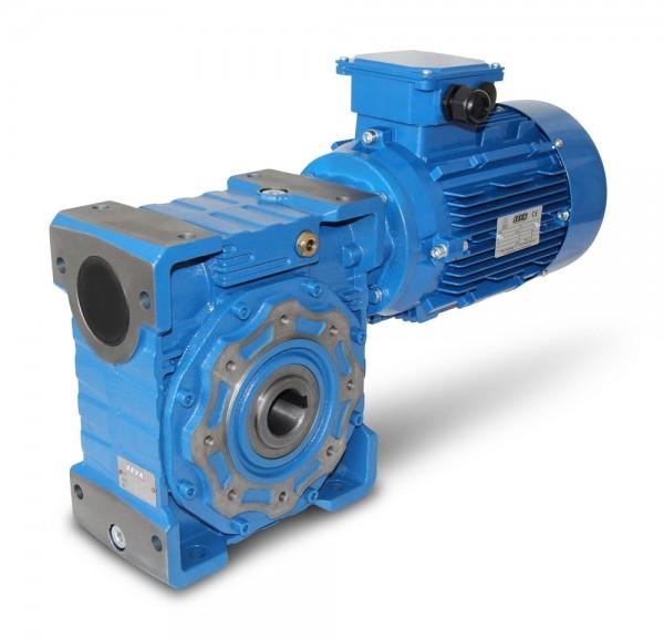 SEVA- CMRV 110-112M-4 - 4 kW - 140 rpm- Worm Gearbox Motor