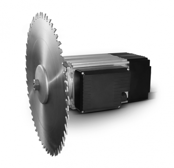 Single-phase Flat Motor B14 with Saw Blade
