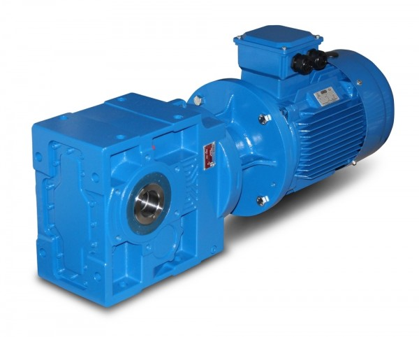 Kegelradgetriebemotor SEVA-KV473-90-4-1,5 KW-16 Upm