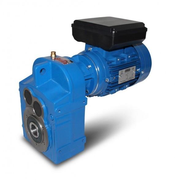 230V-Option 0,25kW-6pol für Flachgetriebemotoren