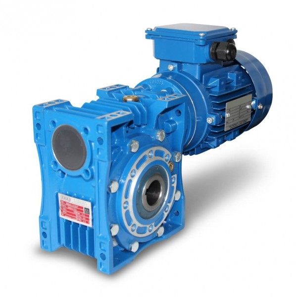 SEVA- EV 080-802-0,55 kW-34 Upm Schneckengetriebe + AC-Motor