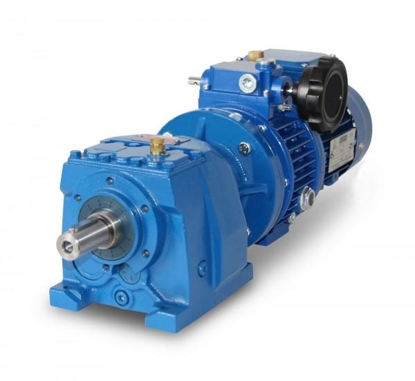 SEVA-MV-F002-71-4 - 0,37 kW – 26-127 Upm Stirnrad- Verstellgetriebemotor