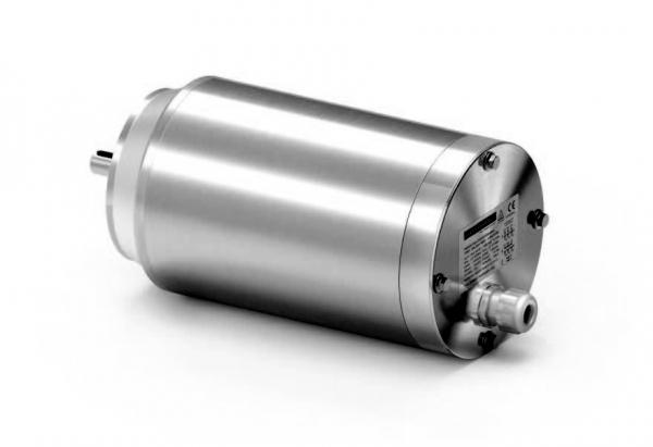 Edelstahlmotor in IP69k