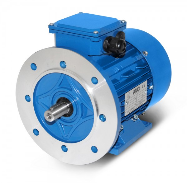 SEVA- AC Motor- MSP 802- 0.75/0.60 kW- 2/4pol-B35