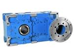 Horizontal-Stirnradgetriebe-IEC-Flansch