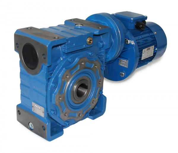 SEVA- CMRV 130+PC090-90S-4 - 1,1 KW - 5,8 Upm- Schneckengetriebemotor