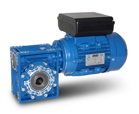 Worm Gearbox with Single Phase Motor