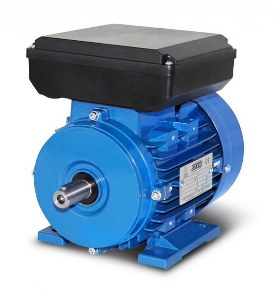 SEVA-Einphasenmotor- ML 712-4, 0,37 KW, 4pol, B3