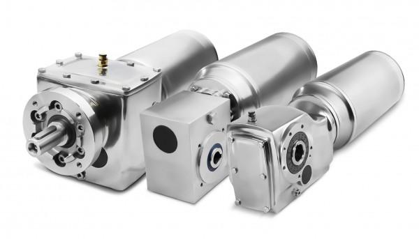 Stainless steel worm gear motors