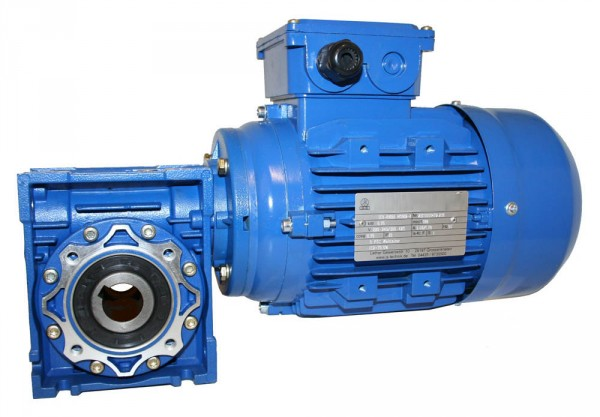 Bremsmotor-Option 0,12kW-6pol für Schneckengetriebe