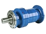 Planetary gearbox with flange